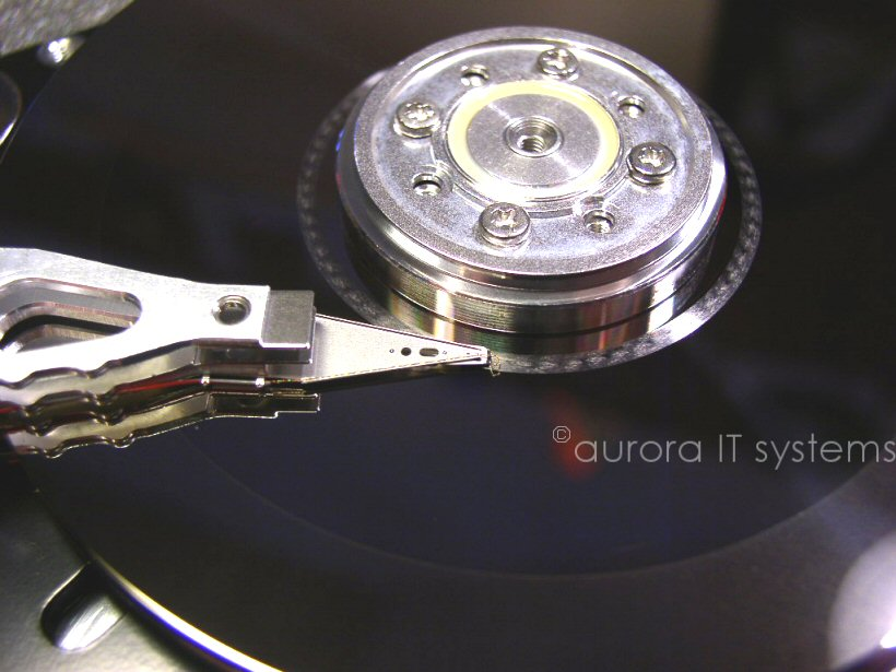 disk drive crash image